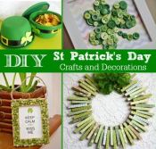 It's hard to not get caught up in the Irish spirit! Here are some fun St. Patrick's Day crafts and DIY decorations to do with the kids.