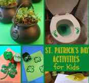Check out these 12 Fun St. Patrick's Day Activities for Kids and get ready to go green with the leprechauns!
