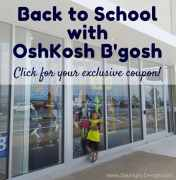 Back to School with OshKosh B'gosh – Quality Fashion at a Fantastic Price + Exclusive Coupon!