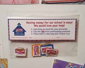 Magnetic Box Tops Collection Bags…Share with Your Community to Increase Your School's Earnings!
