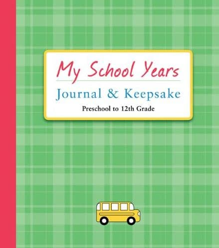 My School Years Journal & Keepsake