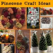 Pine Cone Craft Ideas for Festive Fall Decorating