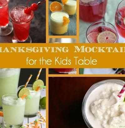10 Thanksgiving Mocktails for the Kids