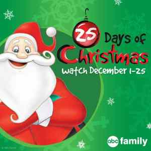 2015 ABC Family's 25 Days of Christmas Movie Schedule