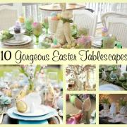 10 Gorgeous Easter Tablescapes