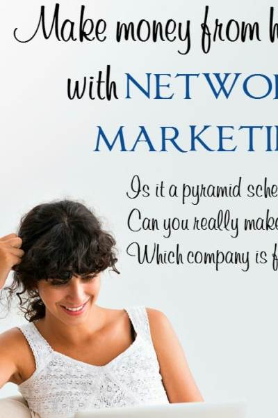 Work at Home: Make Money from Home in Network Marketing