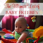 The Ultimate List of Baby FREEBIES!