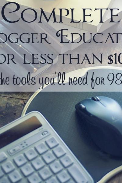 A Complete Blogger Education for Less Than $100 – All the Blogging Tools You'll Need for 98% Off!
