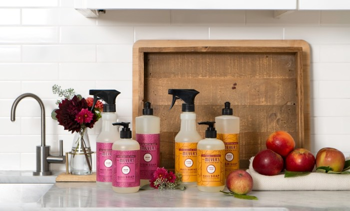 FREE Mrs. Meyer's fall cleaners!