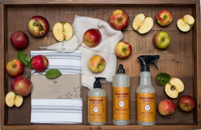 Make your home feel warm and welcoming this fall with FREE Mrs. Meyer's seasonal cleaners in Apple Cider or Mum! Limited quantities!