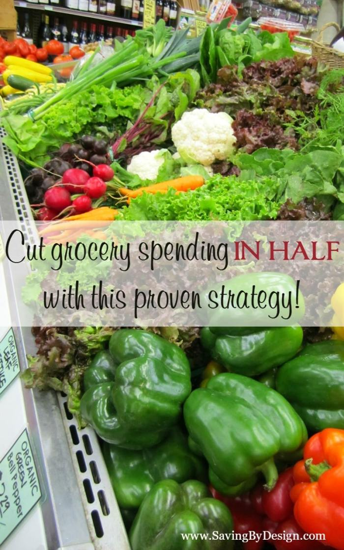 Imagine your grocery shopping being organized, healthy, and under budget. If you are looking for a way to quickly cut grocery spending in half, you're going to love this!