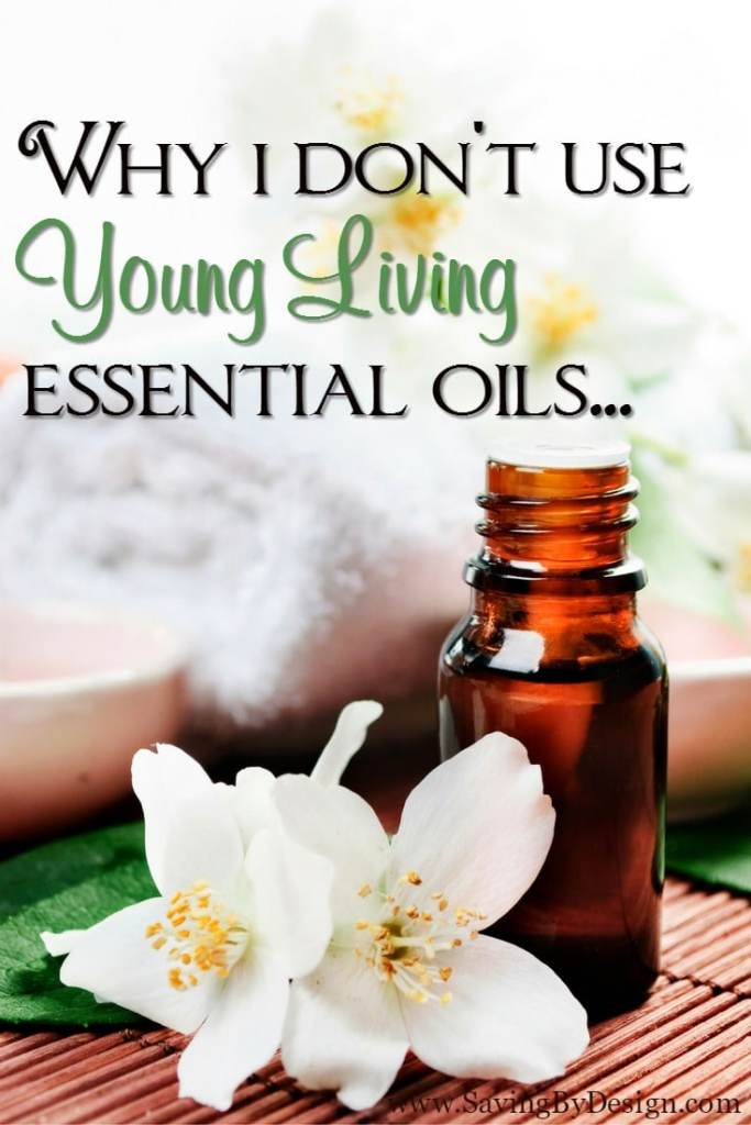 You may be surprised to know that even though I am a huge essential oils advocate and have thoroughly researched the industry, I have never used Young Living essential oils.