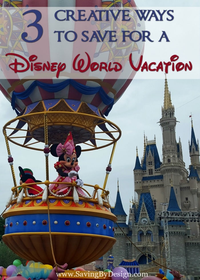 Does thinking about saving for Disney immediately stress you out? Take a look at these ways to save for a Disney World Vacation and even get some FREE cash!
