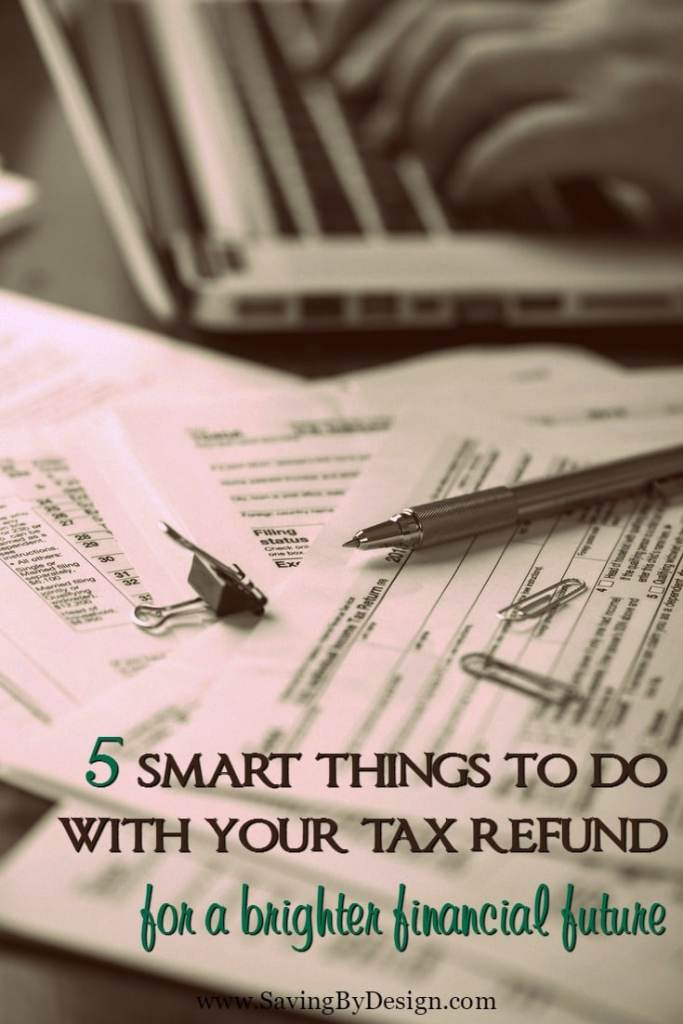 When you check these smart things to do with your tax refund off your list, you'll feel relieved knowing you're closer to getting your finances in order.