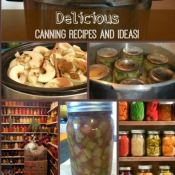 I love to plan out canning recipes and ideas so we can enjoy homegrown food all year long! Here are some awesome canning recipes, storage ideas, and other spectacular tricks.