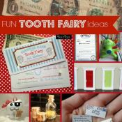 Is it almost tooth fairy time? Here are lots of great tooth fairy ideas for this big moment!