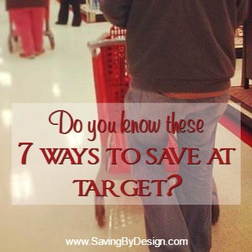 Do You Know These 7 Ways to Save at Target?