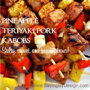 Pineapple Teriyaki Pork Kabobs – Salty, Sweet, and Scrumptious!