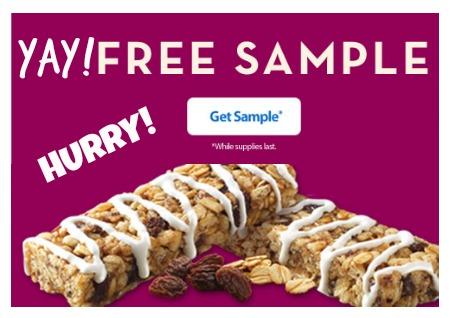 FREE Sample of Metamucil Cinnamon Oatmeal Raisin Meta Health Bar!