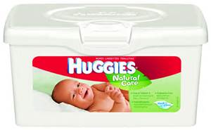 Save $0.50 off (1) HUGGIES Wipes 32 ct. or larger