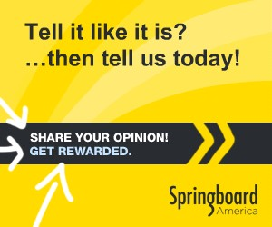 Join Springboard US Panel And Earn Cash And Rewards!