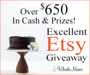 Enter The 3rd Annual Excellent Etsy Giveaway – Over $650 in Cash & Prizes!