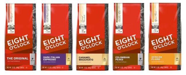Save $1.50 off EIGHT O'CLOCK COFFEE Any variety – Only $3.48 At Walmart!