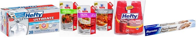 New Printable Coupons Including: Hefty, Reynolds, McCormick & More!