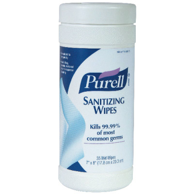 New –  $1.00 off any PURELL 35 Count Canister Wipe