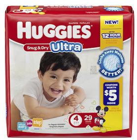 Save $3.00 off 1 Huggies Snug & Dry Ultra Diapers