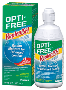 Get $2 Off OPTI-FREE Contact Solution 10oz or larger