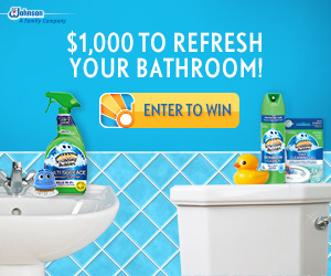 Enter to win a Grand Prize of $1,000 towards refreshing your bathroom