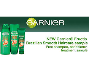 Get Your Free Garnier Fructis Haircare Sample Pack!