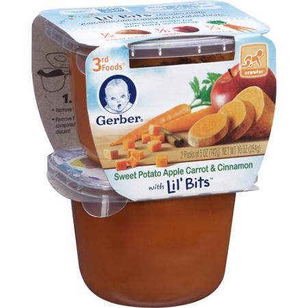 Save $1.00 off On Any two Gerber 3rd Foods Lil' Bits