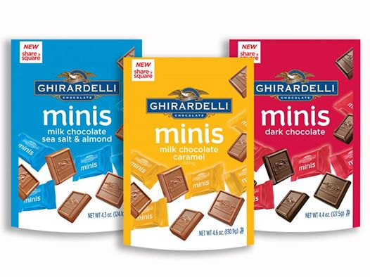 New Coupon: Save $2.00 off any TWO (2) Ghirardelli minis pouches
