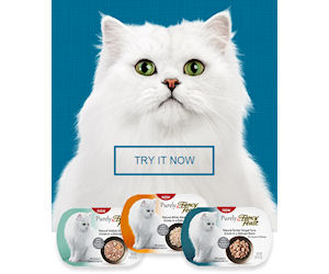 Free Sample of Fancy Feast Purely Thoughtful Cat Food!