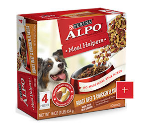 Free Sample of ALPO Meal Helpers *Available Again*