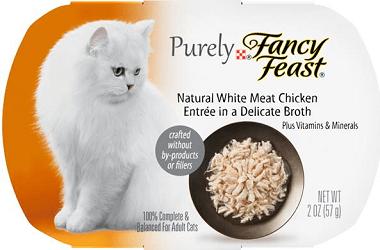 Buy 3 Purely Gourmet wet cat food, Get 3 free