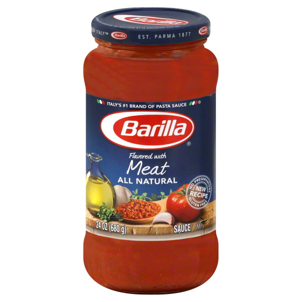 photograph regarding Wegmans Printable Coupon called Exceptional* $0.75/1 Barilla Pasta Sauce Coupon + Wegmans Package!