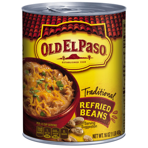 New Coupon – $0.30 off ONE CAN any Old El Paso Refried Beans
