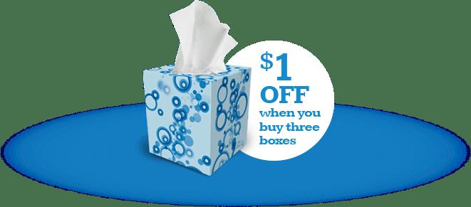 Scotties – $1 Off 3 Tissue Coupon & Store Deals!