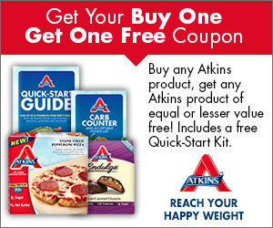 FREE Atkins QUICK-START KIT