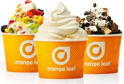 Free Froyo at Orange Leaf – Today!