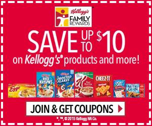 Get 100 Free Kellogg's Family Rewards Points!