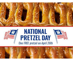 Free Pretzel Day – Today Only!