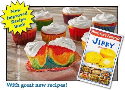 Free Copy of the Jiffy Mix Recipe Booklet!