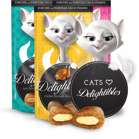 Sign Up to Try Delightibles Cat Treat Products for Free (Email)