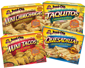 Save – $3.00 off any TWO Jose Ole Taquitos or Snacks