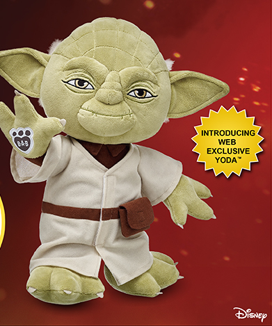Build A Bear Workshop ~ Buy Any Star Wars Furry Friend Get One For $10 Plus Earn Cash Back!