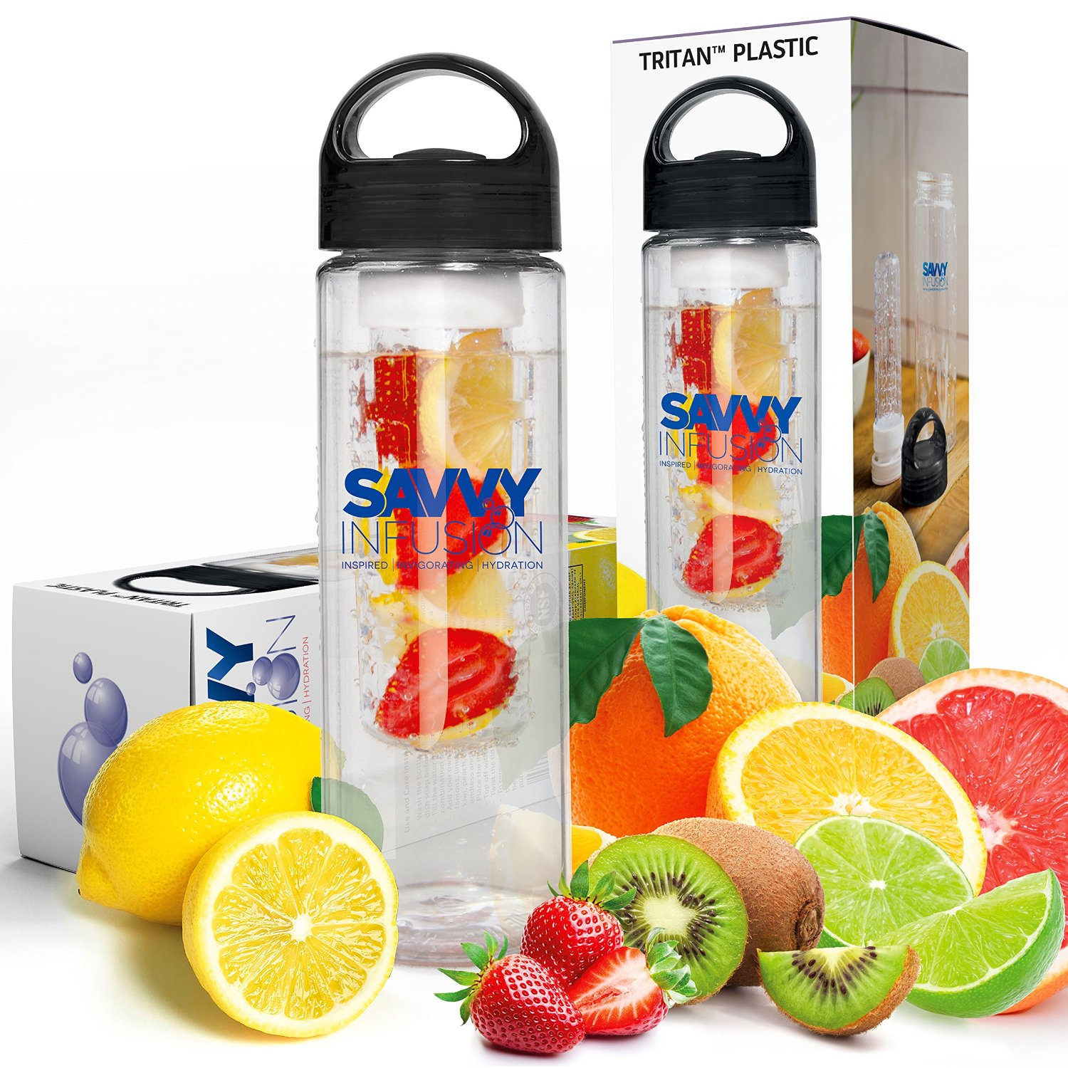 Hot Amazon Deal: Savvy Infusion Water Bottle – 24 Oz Only $12.95 (Reg. $28.95)